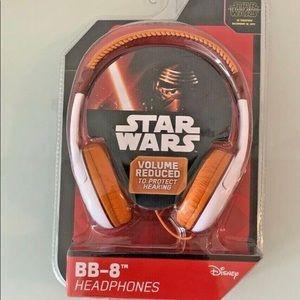 BB-8 Star Wars The Force Awakens Disney Kids Safe